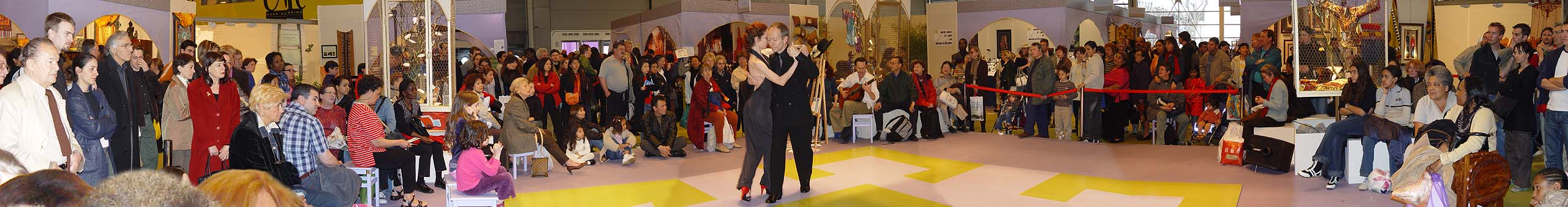 Foire de Paris argentine tango initiation workshop